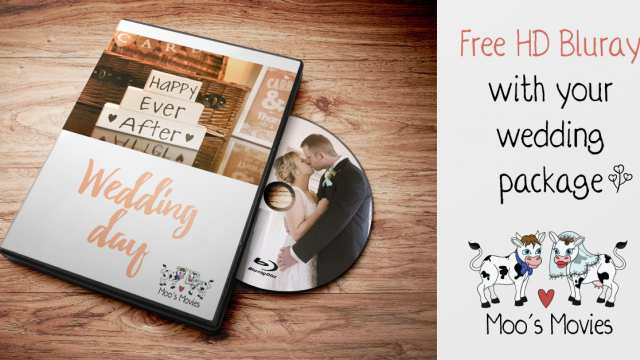 Wedding Package Offer: Free HD BluRay of your day!