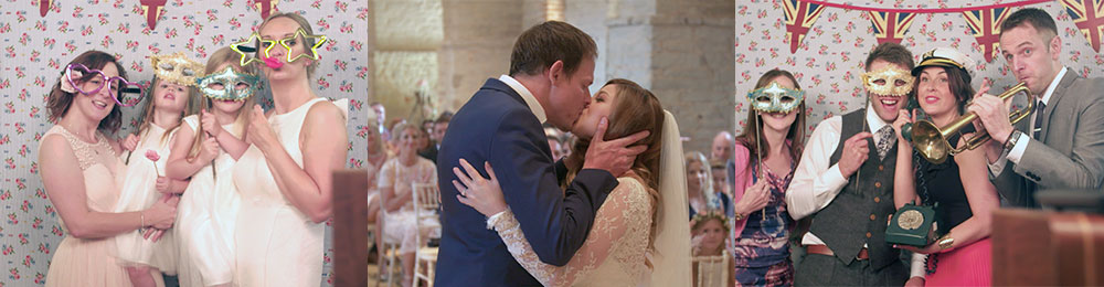 Tithe Barn Wedding Video - Mark & Becky